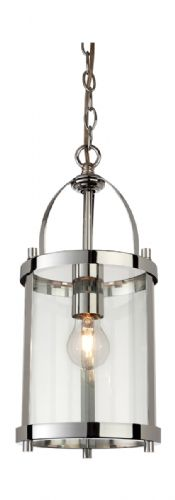Firstlight 8300CH Chrome Imperial Round Lantern - 1 Light